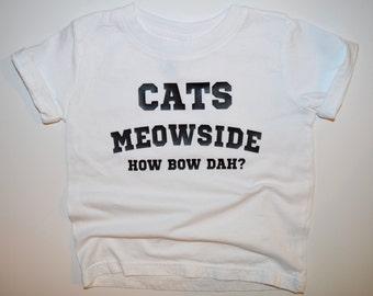 Cats Meowside - Infant T-Shirt or Bodysuit, Toddler T-Shirt