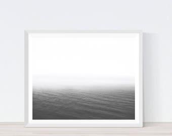 Minimalist Ocean, Abstract Ocean, Minimalist, Minimalist Ocean Print, Minimalist Print, Ocean Print, Ocean Decor, Ocean Wall Decor,C11