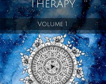 Adult Colouring Book Instant Download: Ultimate Colour Therapy Vol. 1