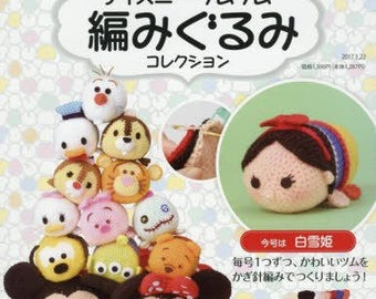 "Amigurumi Kit Snow White,""Disney Tsum Tsum Amigurumi Collection vol.28 Snow White"""