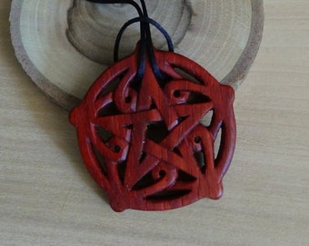 Pentagram pendant Pentacle pentagram jewelry gothic wedding Celtic jewelry Celtic necklace pagan jewelry Witchcraft Witch jewelry wiccan