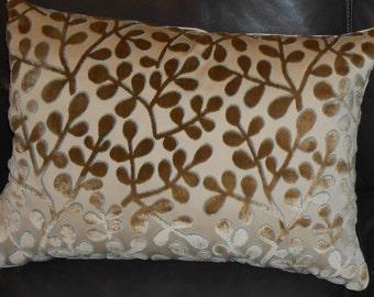 Beacon Hill silk cut velvet fabric SUMMER SONATA custom new ONE