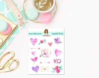 Sweet Love Deco Sheet