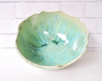 Organic Salad  Bowl - Green Frost