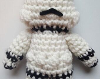 Star Wars, Storm trooper, Amigurumi Star Wars, Crochet Star Wars
