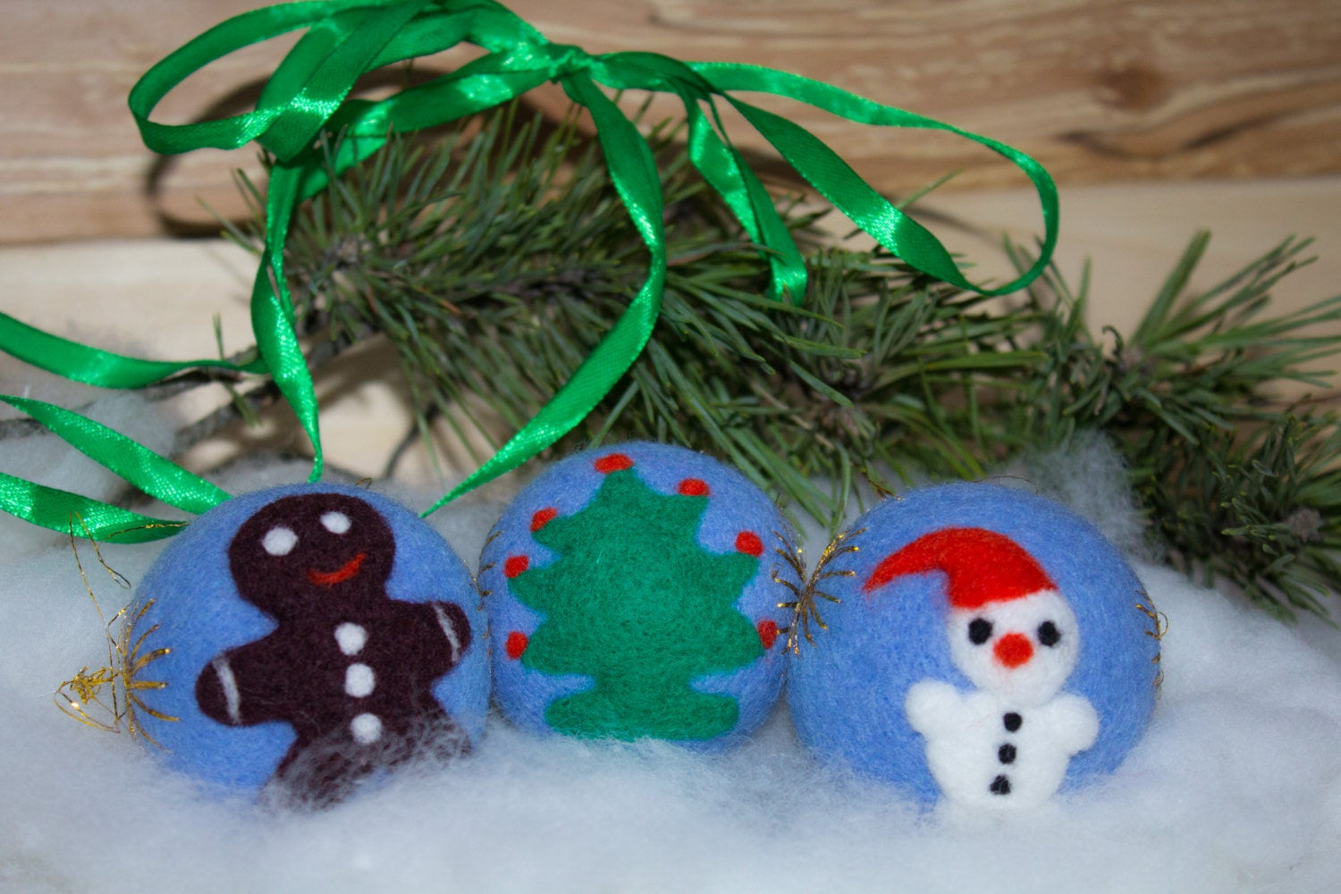 Sale tree ornaments christmas tree decor felt ornaments for Christmas ornaments sale