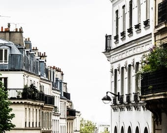 Paris Photography - Paris Rooftops - Wall Art Print - Paris Decor - Architecture - Fine Art Photography  - Parisian Style - 0002