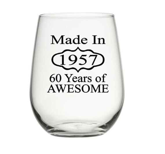 60th Birthday Glasses 60th Birthday Gift By