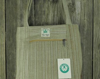Hemp rounded Natural small Tote