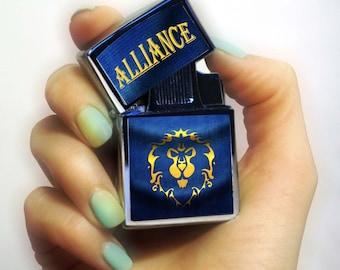 LIGHTER world of warcraft lighter, alliance lighter, Lighters, alliance team lighter, mans gift