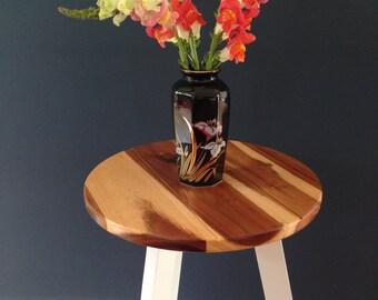 Black vintage vase 80s