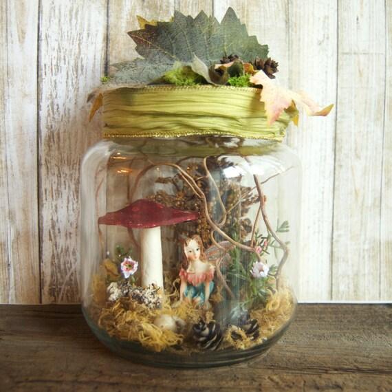 Fairy Jars Fairy Garden Fairies In A Jar Fairy Gift