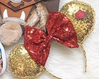 Princes Belle Minnie Ears!