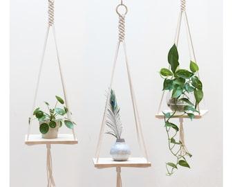 hanging planter etsy. Black Bedroom Furniture Sets. Home Design Ideas