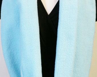 Fleece Blue Scarf