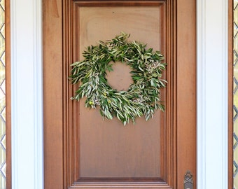 Olive and Tallowberry Wreath | Summer Wreath | Front Door Wreath | Olive Wreath | Summer Wreaths for Front Door | Wreaths for Front Door