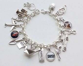 Prison Break sharm bracelet - Prison Break jewelry - Michael Scofield Lincoln Burrows jewelry
