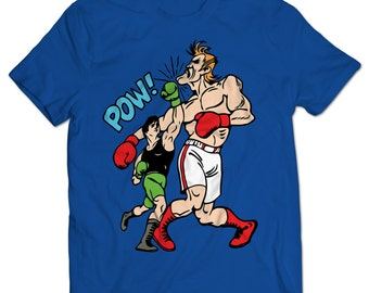 Punch-Out Little Mac vs. Glass Joe T-shirt