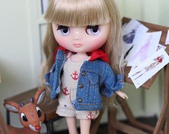 Little Sailor Jumpsuit + Jacket for Middie Blythe