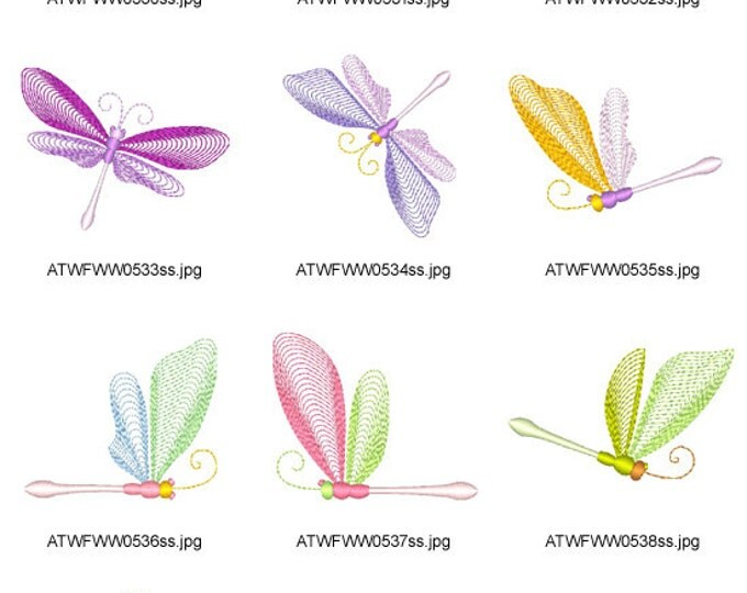 Darling-Firefly. ( 10 Machine Embroidery Designs from ATW ) ev16