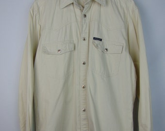 Vintage Cream Arizona Denim Shirt