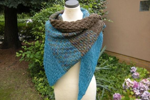 Triangle scarf shawl scarf shawl weaving patterns