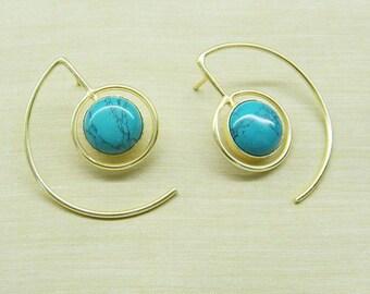 Logo Earrings - Casual Wear Earrings