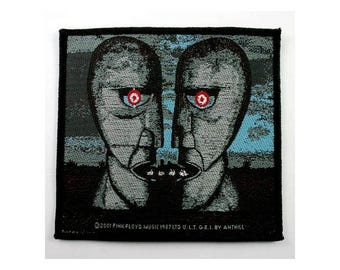 PINK FLOYD 'Division Bell' sew on woven patch, officially licensed 2001