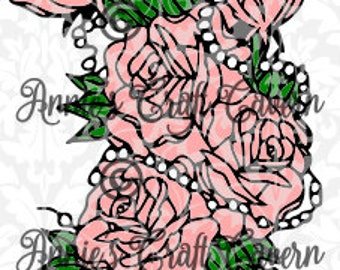 Roses and Pearls SVG