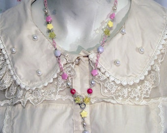 Sweet Lolita Fairy Kei Ice Cream Necklace
