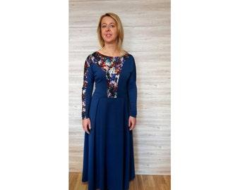 Navy blue bridesmaid dress – Etsy