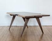 Modern Black-Walnut Coffee Table