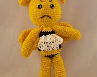 Amigurumi Crochet Bumble Bee
