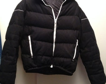 Real down jacket/Piumino by Kris Van Assche man great condition very hot, style ski size 50.