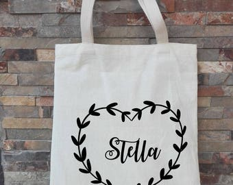 Bridesmaid Tote Bags, Bridesmaid Gifts, Tote Bag, Beach Bag, Bachelorette Party Gift, Wedding Bag, Monogrammed Tote Bags, Bridesmaid Totes