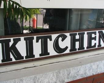 Kitchen Sign, Rustic Kitchen Sign, Fixer Upper Kitchen, Kitchen Graphic Sign, Shabby Chic Kitchen, Country Kitchen, Beach Kitchen