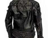 Antique Biker Brigade Jacket