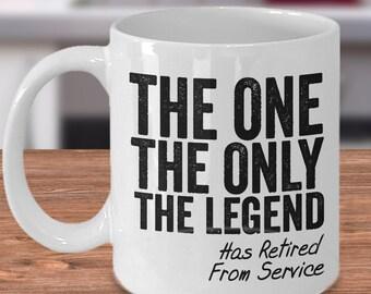 Retirement mug, retired from service mug, military mug, army mug, veteran mug, retired mug, gift for retirement, retirement from service mug