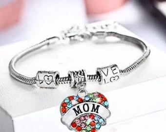 Mom Pandora Style Bracelets