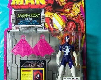1994 Spider-Woman Action Figure [Unopened]