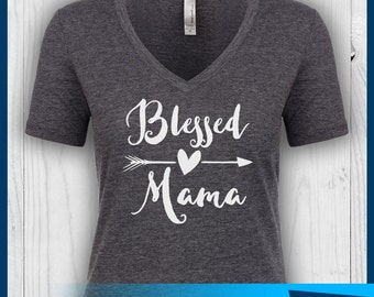 Blessed Mama Shirt, Blessed Mom Shirt, Blessed Mommy Shirt, Blessed Shirt, Blessed Arrow Shirt, Arrow Shirt, Mom Shirt