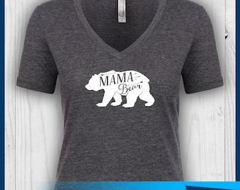 Mama Bear Shirt, Mama Shirt, Mom Shirt,  Mom Life Shirt, Mom Life Tshirt, Mom Life