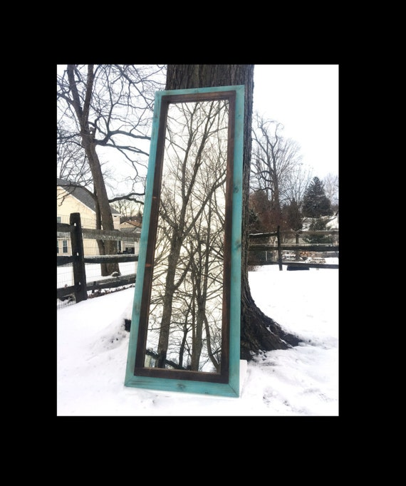 Body mirror full length mirror large rustic mirror full for Large body mirror