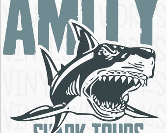 Amity Shark Tours SVG FILE