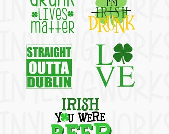 St Patrick's Day SVG FILE PACK