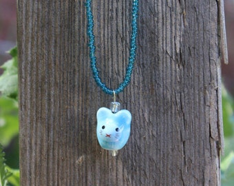 Bunny Blue necklace