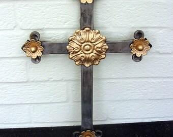 Wrought Irom Wall Cross