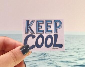 Keep Cool Sticker