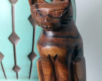 70s Folk Art Cat