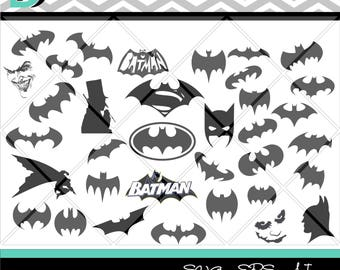 Silhouette svg,Batman svg,Joker svg,super hero svg,Penguin svg,Bat svg,Batman comics svg,Designs,svg,dxf files